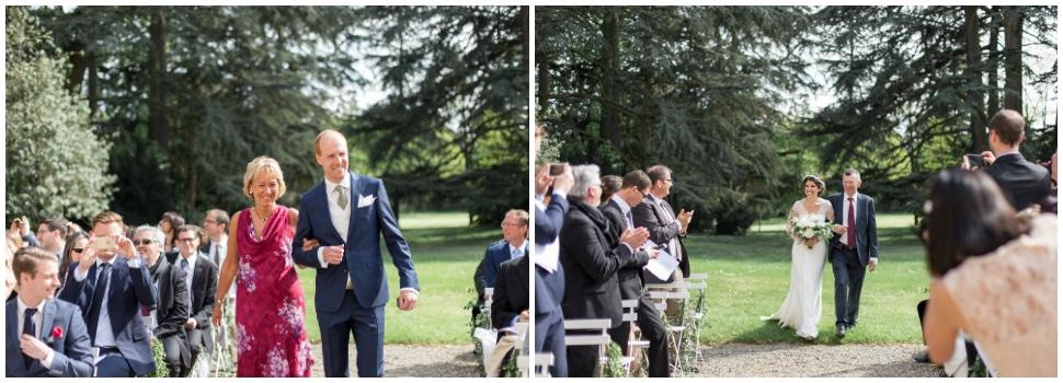cérémonie religieuse de mariage au chateau des ravatys