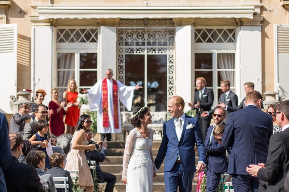 cérémonie de mariage à saint lager