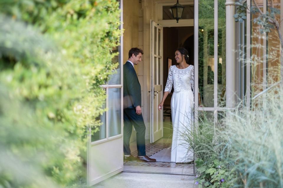 découverte des mariés au clair de la plume à grignan