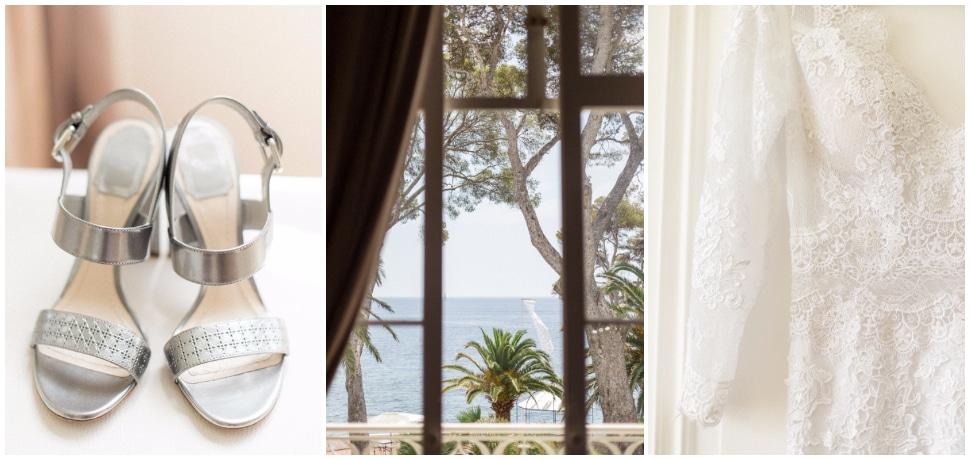 photo reportage de mariage à la villa mauresque à saint raphael