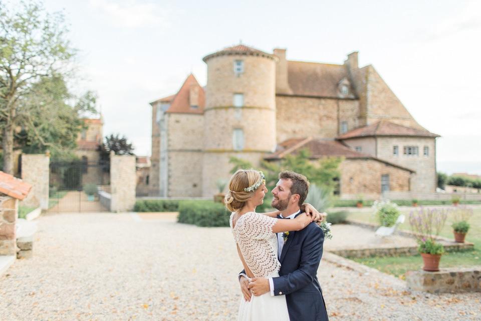 reportage mariage au Château de Saint Marcel de Félines