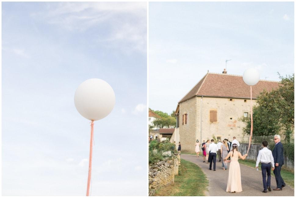 ballon symbole de cérémonie laique en bourgogne