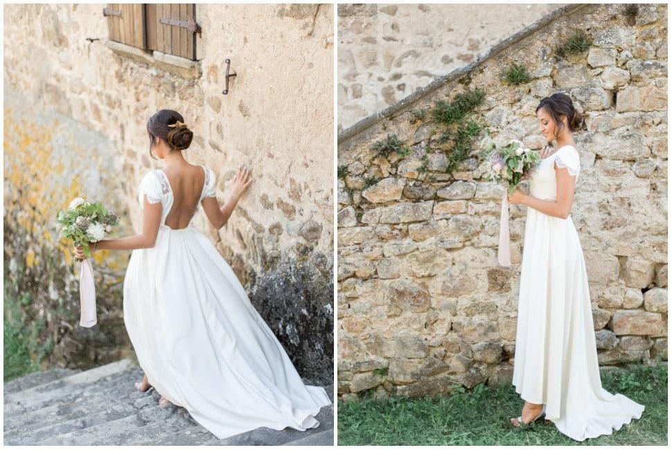 photographie de mariage au domaine les camiers à véranne
