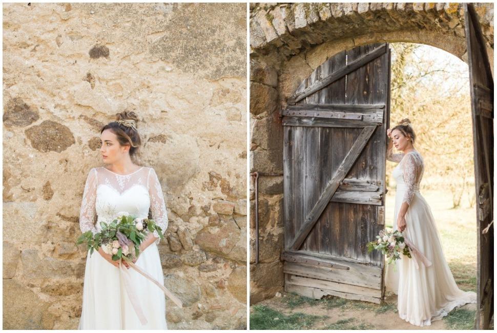 photo de mariage au domaine les camiers