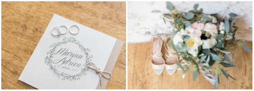 préparatifs de mariage aux mejeonnes dans la drome provencale