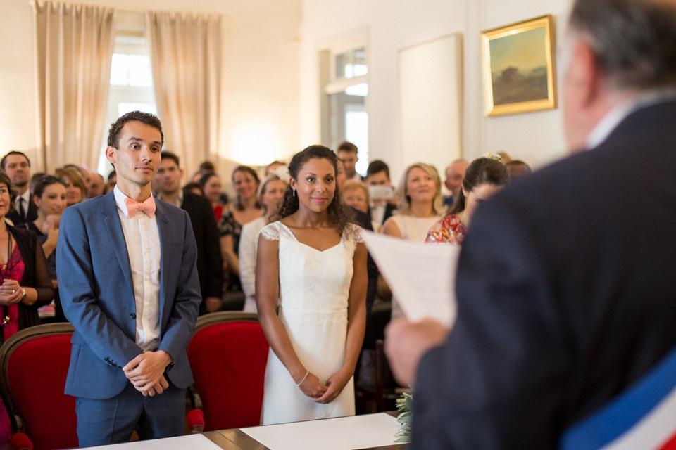 cérémonie civile de mariage à la mairie de grignan