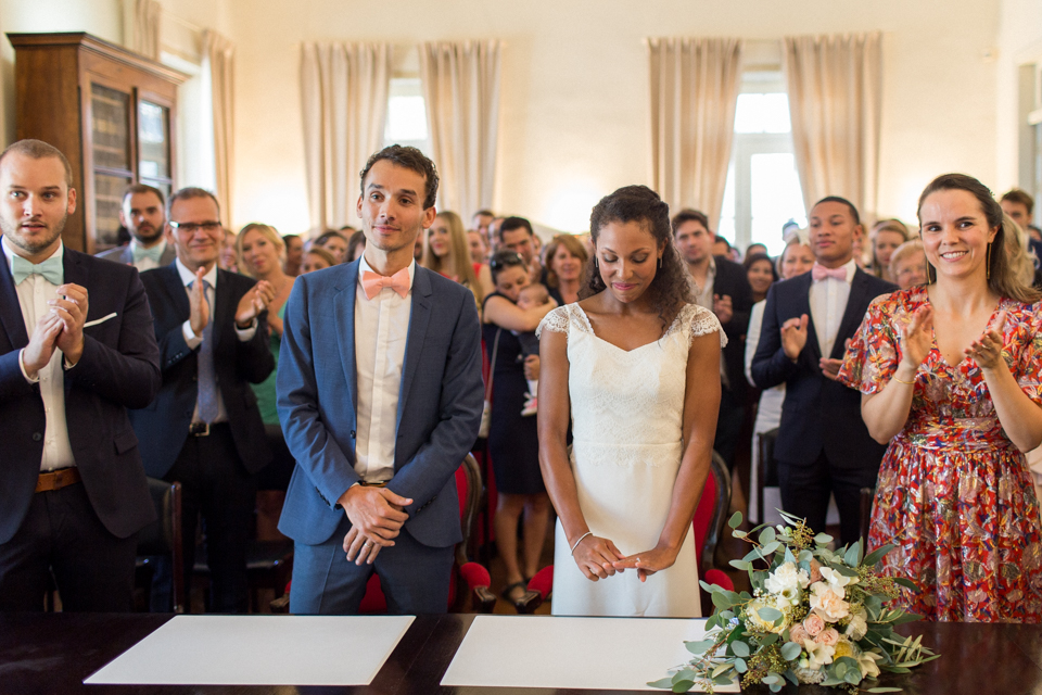cérémonie de mariage à grignan dans la drome