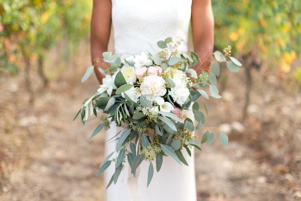 bouquet de la mariée dans la drome