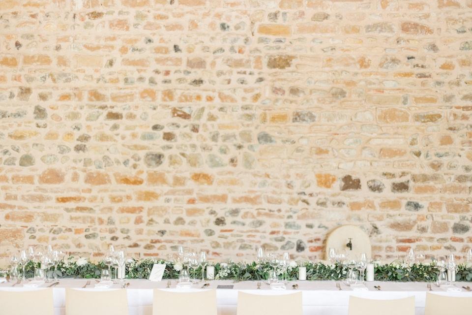 décoration végétale de mariage au chateau des ravatys