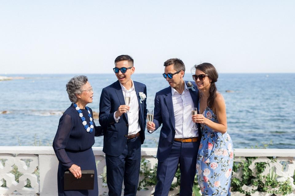 mariage en bord de mer à saint raphael