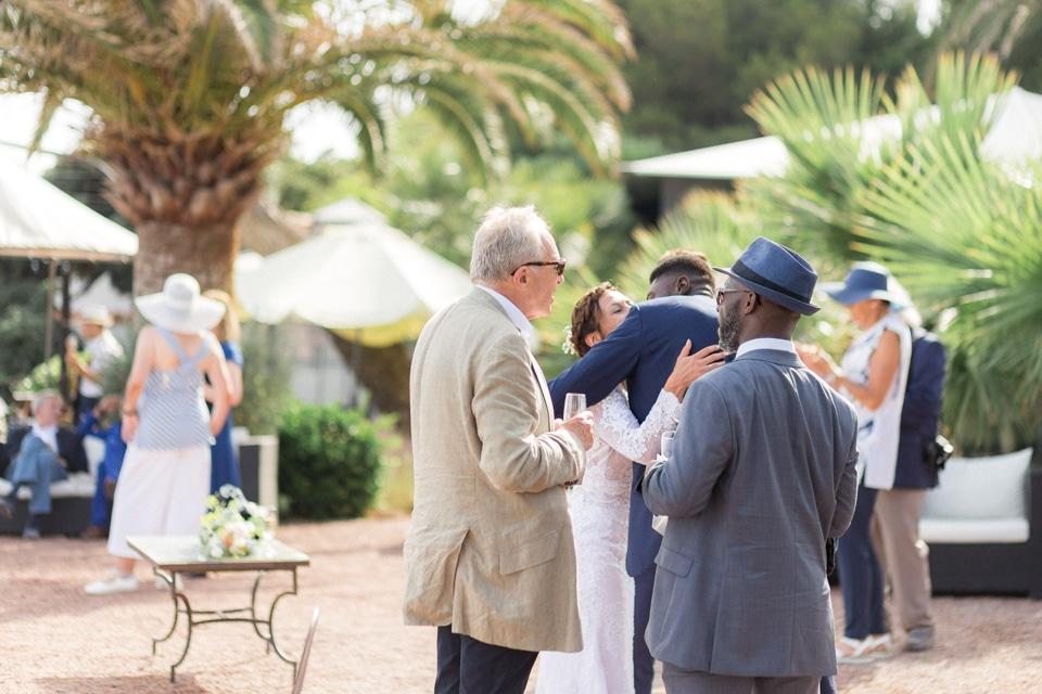 mariage à la mer à la villa mauresque à saint raphael