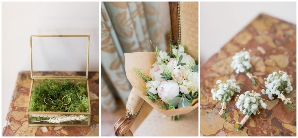 préparation de la mariée à santenay à la maison prosper maufoux