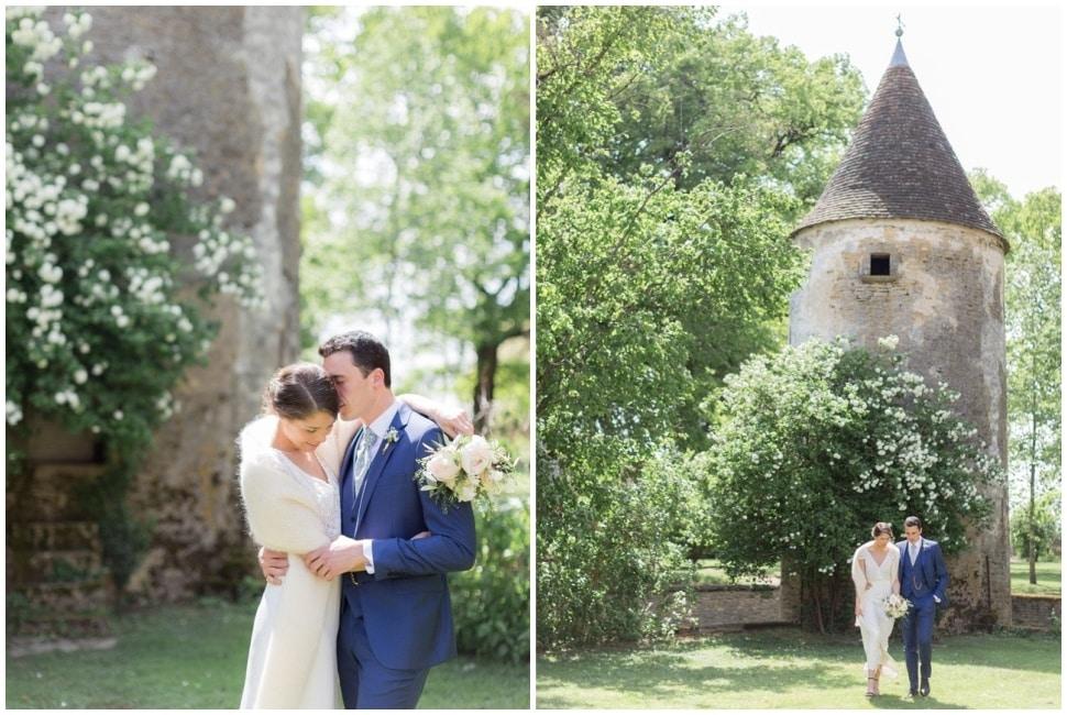 photo de mariage en bourgogne à santenay