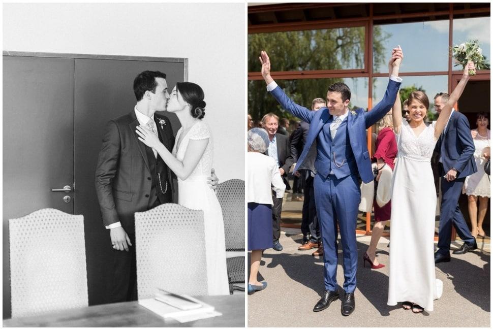 photos de cérémonie civile de mariage en bourgogne