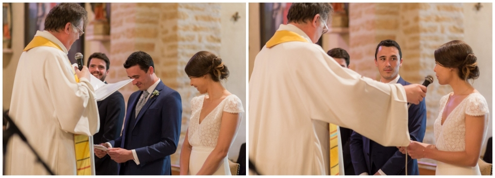 mariage en bourgogne à l'église