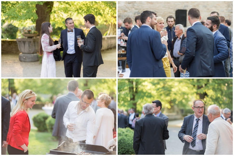 reportage photo cocktail mariage au chateau de santenay en bourgogne