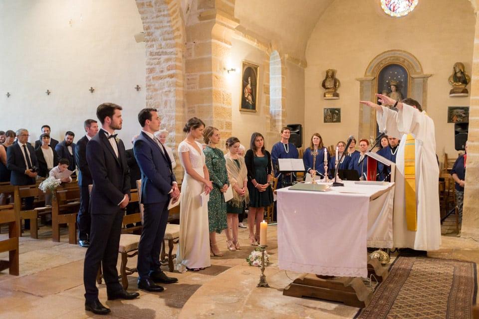 cérémonie de mariage en bourgogne santenay