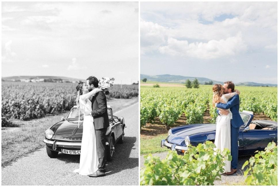 photo de couple mariage beaujolais lyon