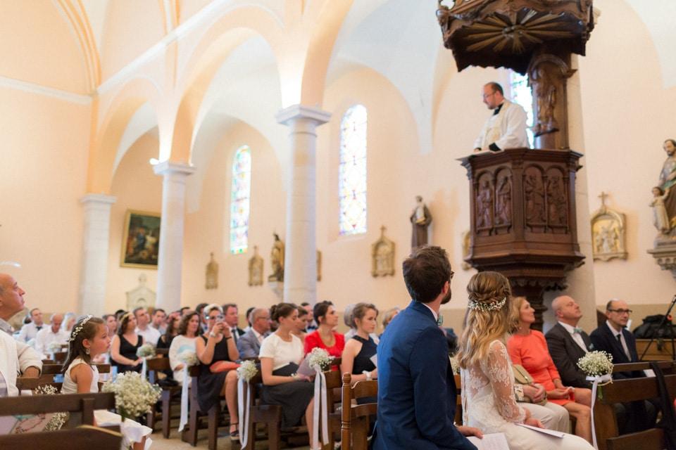cérémonie religieuse de mariage lyon