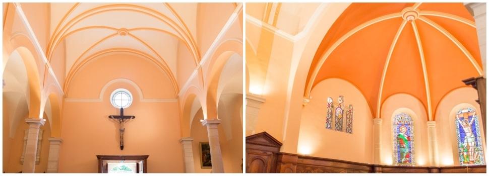 mariage à l'église beaujolais