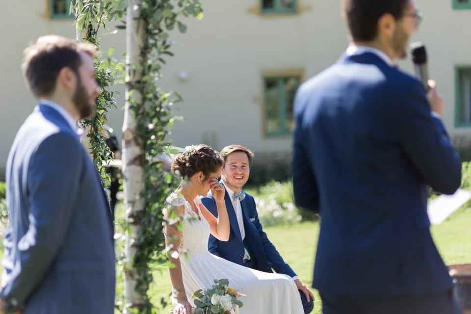 discours cérémonie laïque mariage au chateau du bourg à perreux