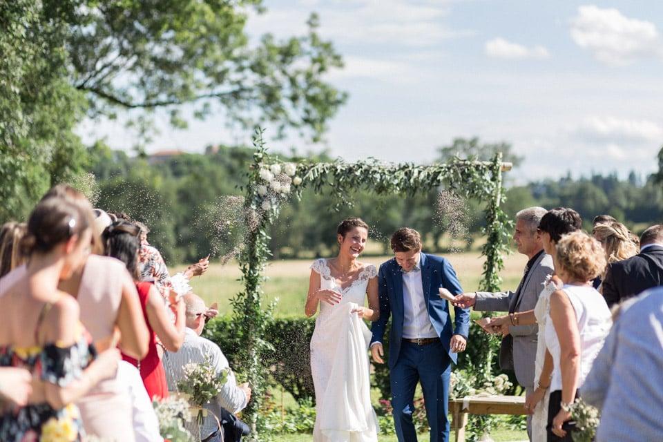cérémonie de mariage chateau du bourg à perreux