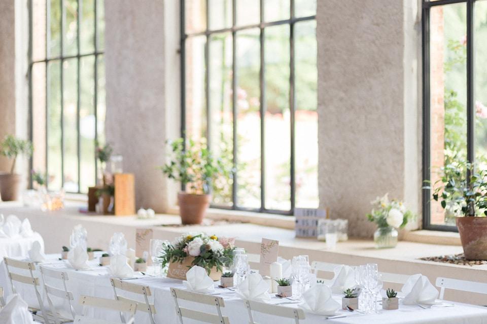 décoration de mariage chateau du bourg