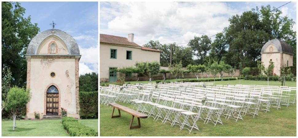 cérémonie mariage chateau du bourg a perreux