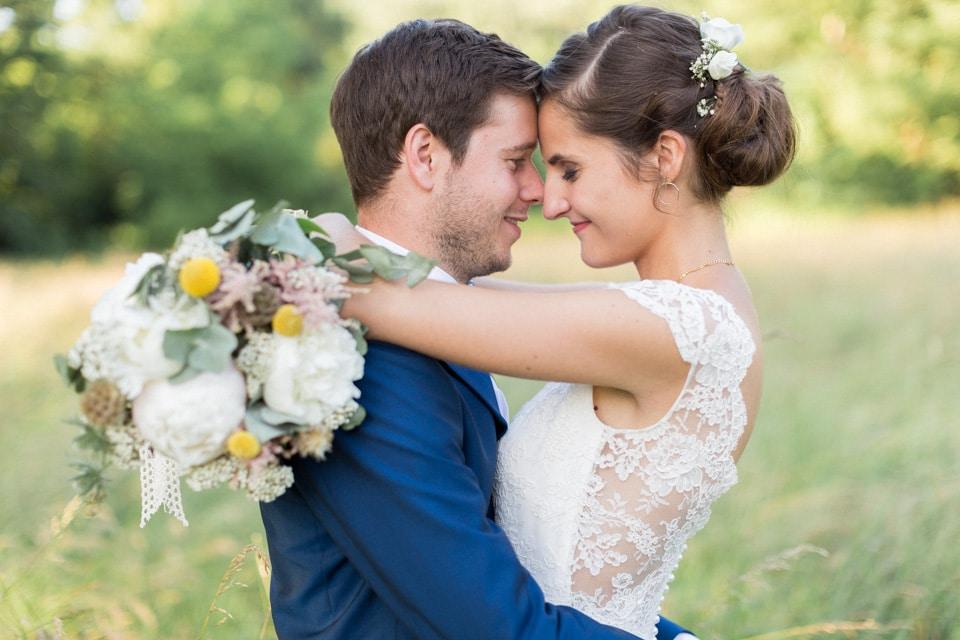 photo de mariage au chateau du bourg