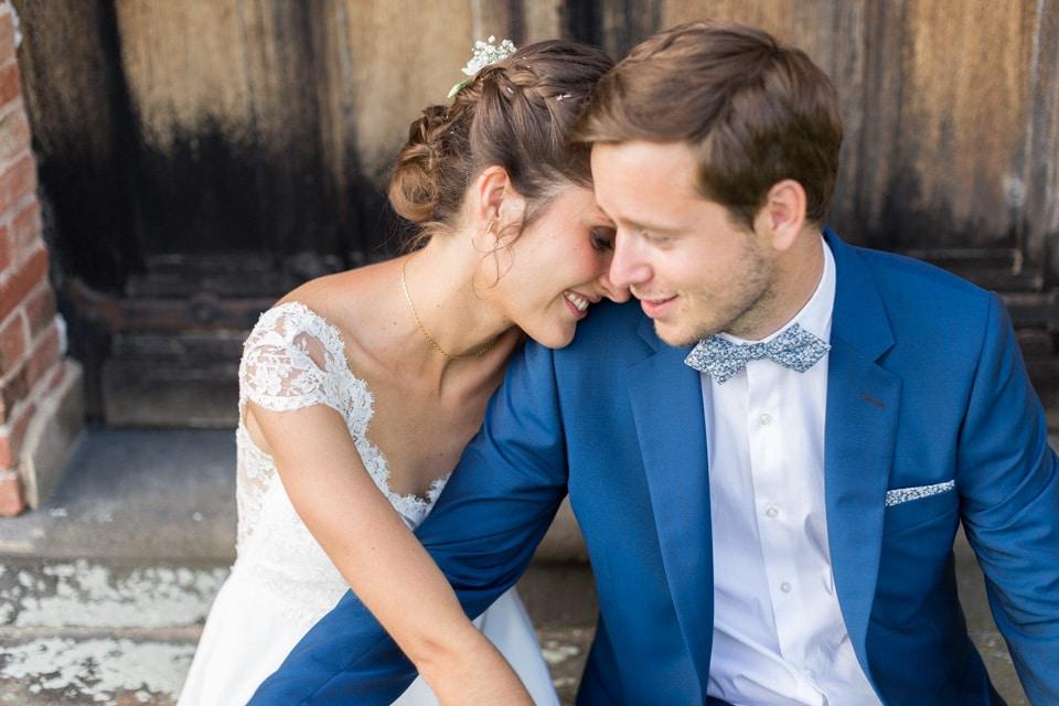 photos de couple mariage chateau du bourg