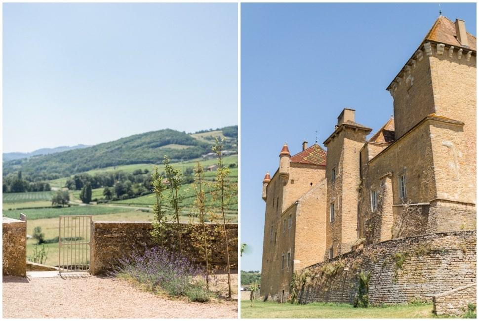 jour de mariage au chateau de pierreclos