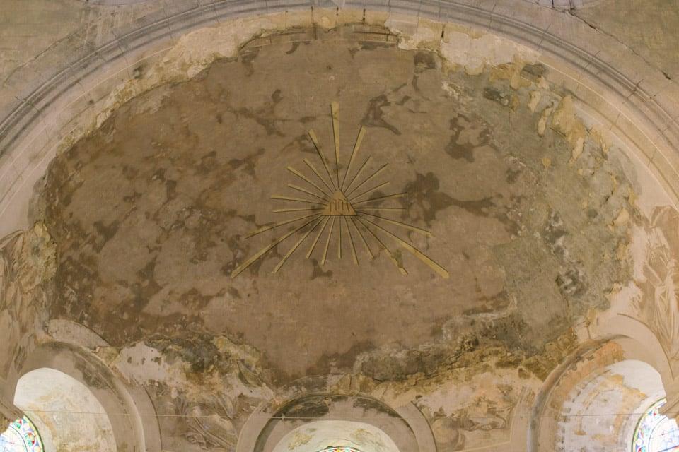 mariage à l'abbatiale de saint chef en isère
