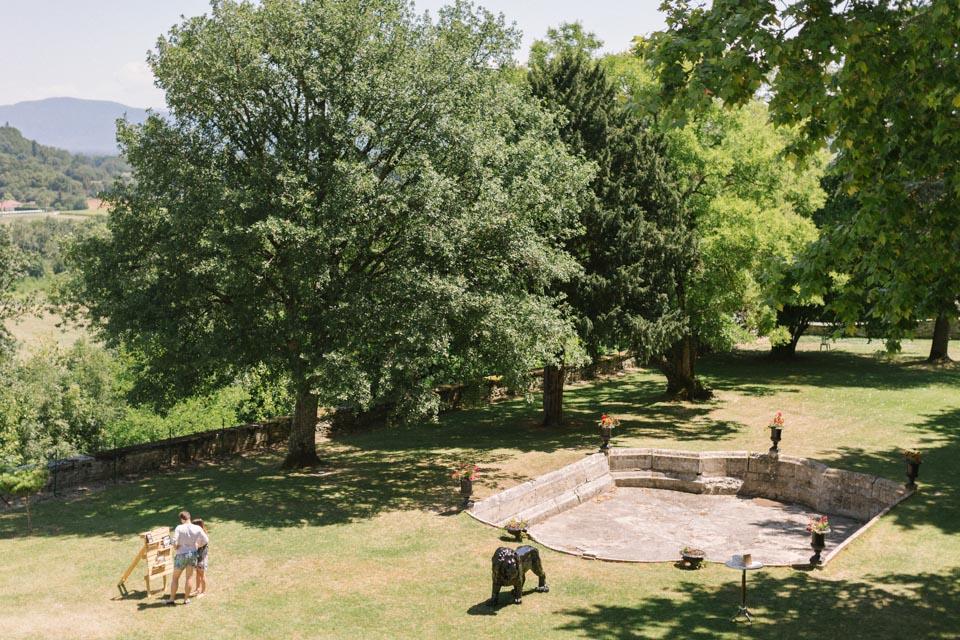 parc du château de chapeau cornu