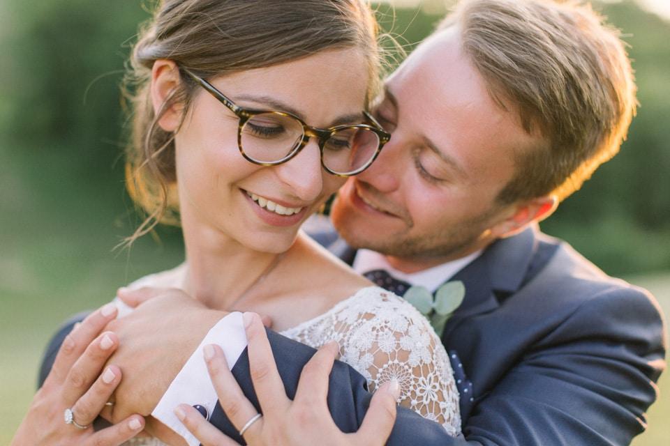 photo de couple mariage chateau de chapeau cornu