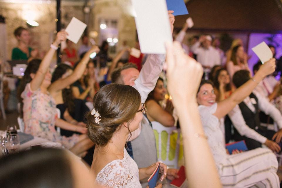 soirée animée mariage chateau de chapeau cornu
