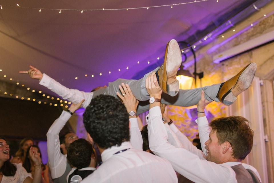 soirée de mariage au chateau de chapeau cornu