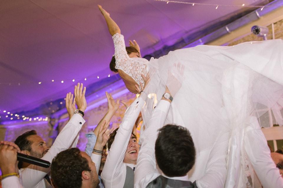 soirée mariage au chateau de chapeau cornu