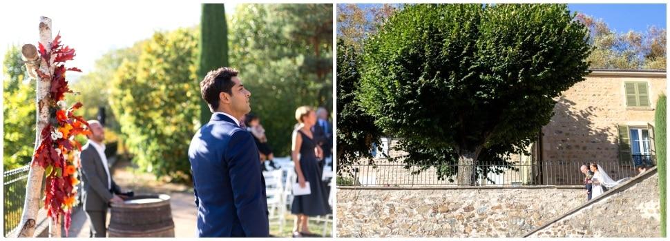 cérémonie de mariage au domaine de vavril
