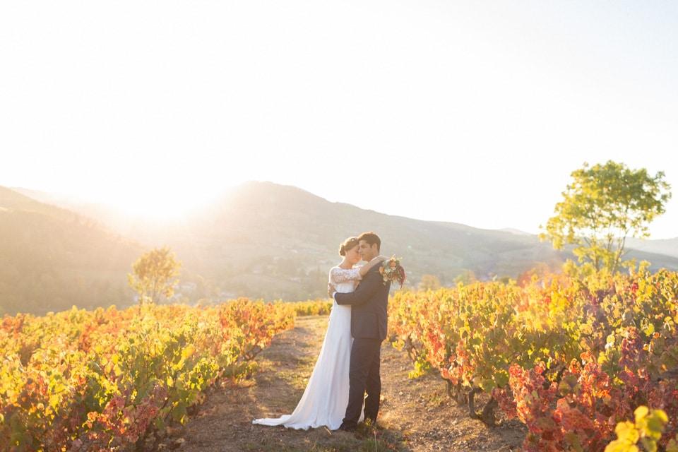 mariage d'automne au domaine de vavril