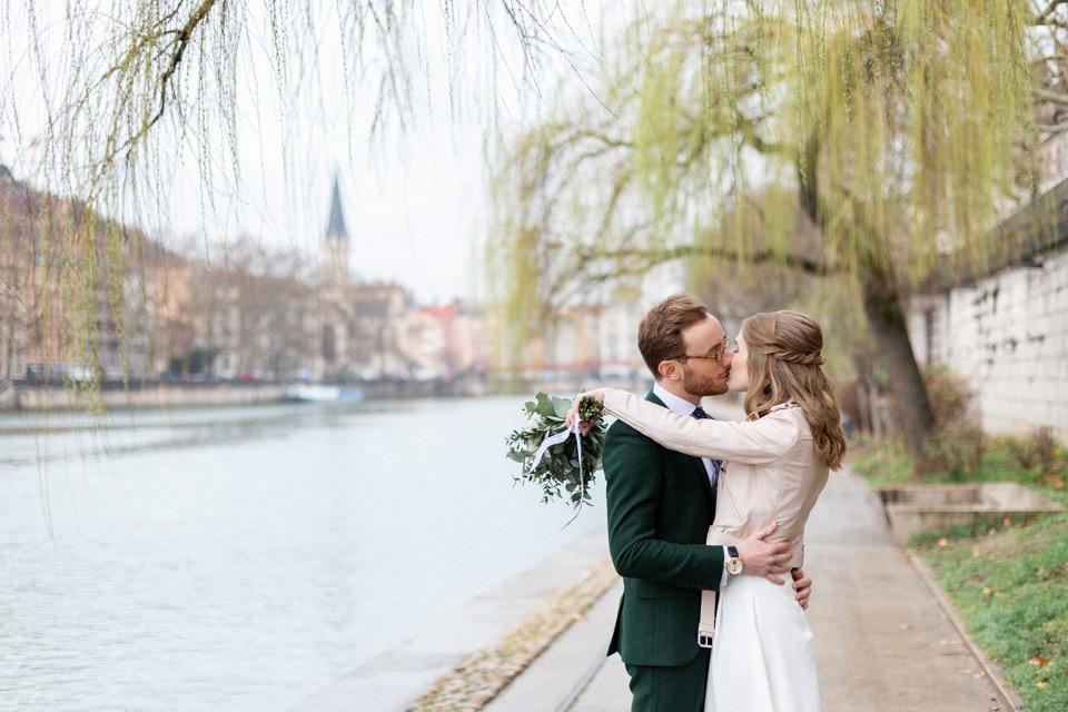 mariage civil à lyon un jour de pluie