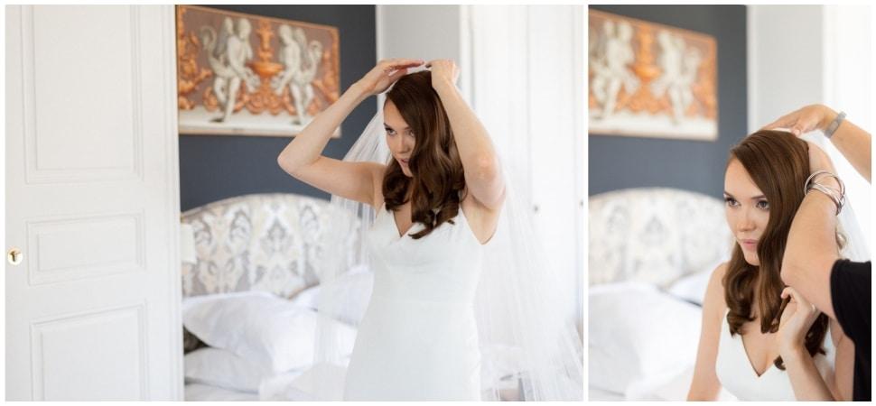 wedding preparation in domaine morgon la javerniere france