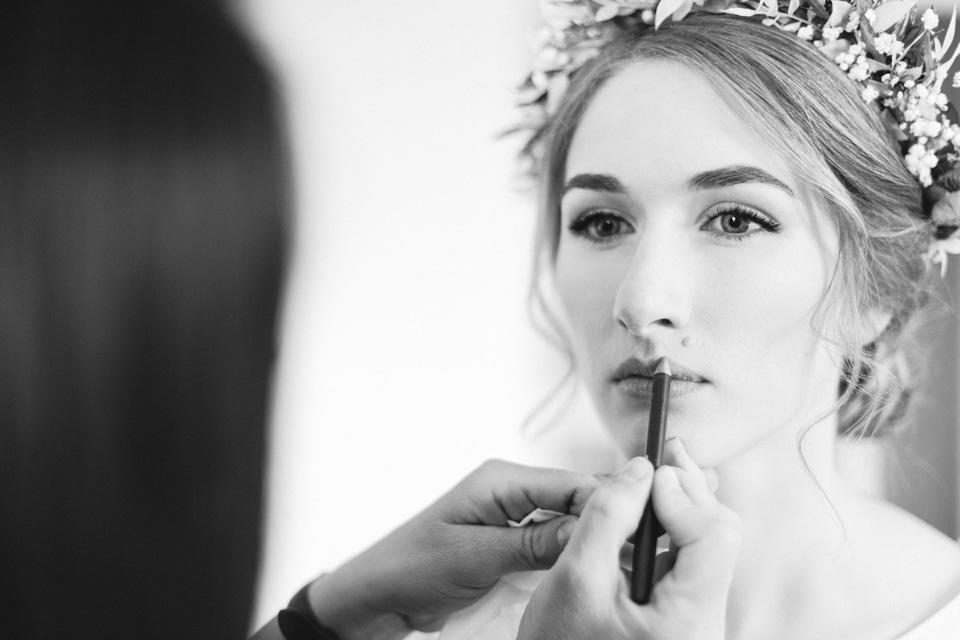 make up de la mariée à lyon
