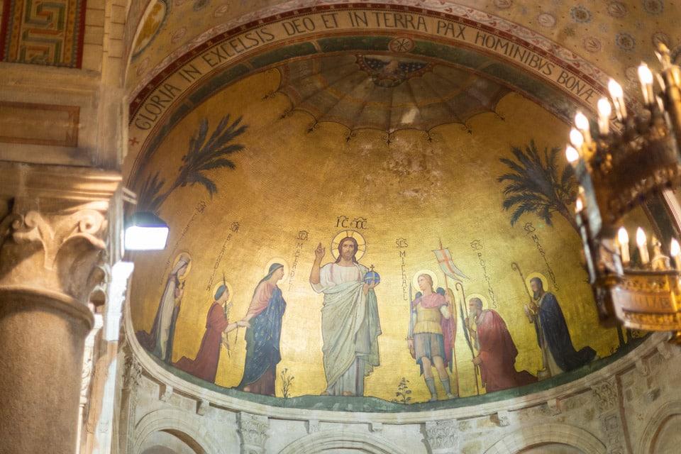 mariage à la Basilique Saint-Martin d'Ainay à lyon
