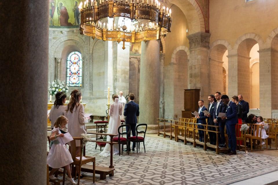 mariage religieux à la Basilique Saint-Martin d'Ainay