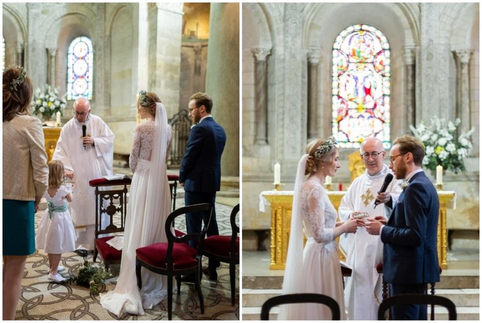 cérémonie de mariage à l'église d'ainay à lyon 2
