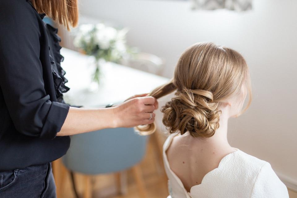 coiffure de la mariée à lyon