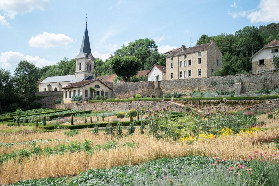 les jardins de barbirey en bourgogne