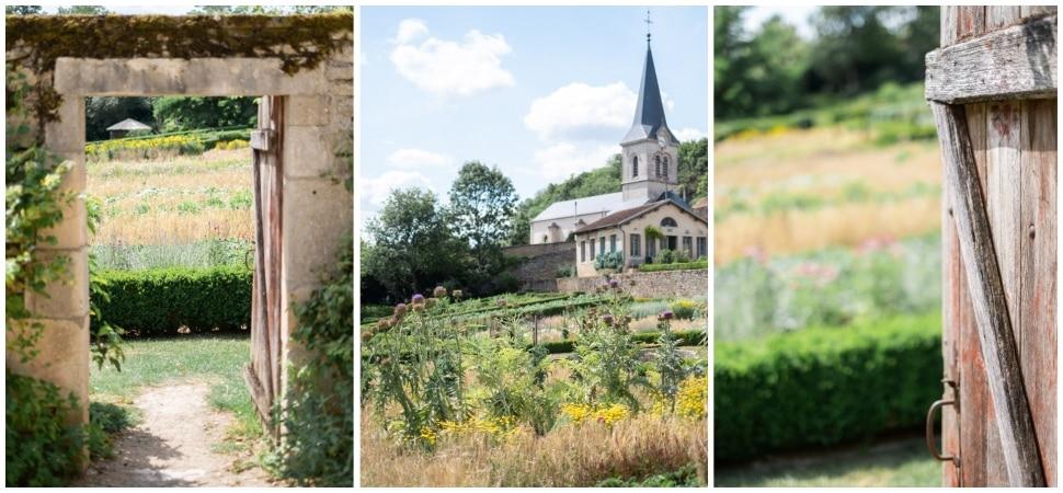 les magnifiques jardins du chateau de barbirey