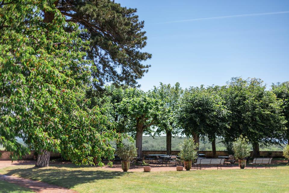 parc du domaine de mariage morgon la javerniere