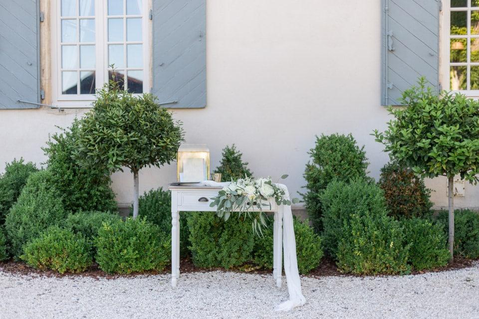 décoration de mariage du domaine morgon la javernière près de lyon